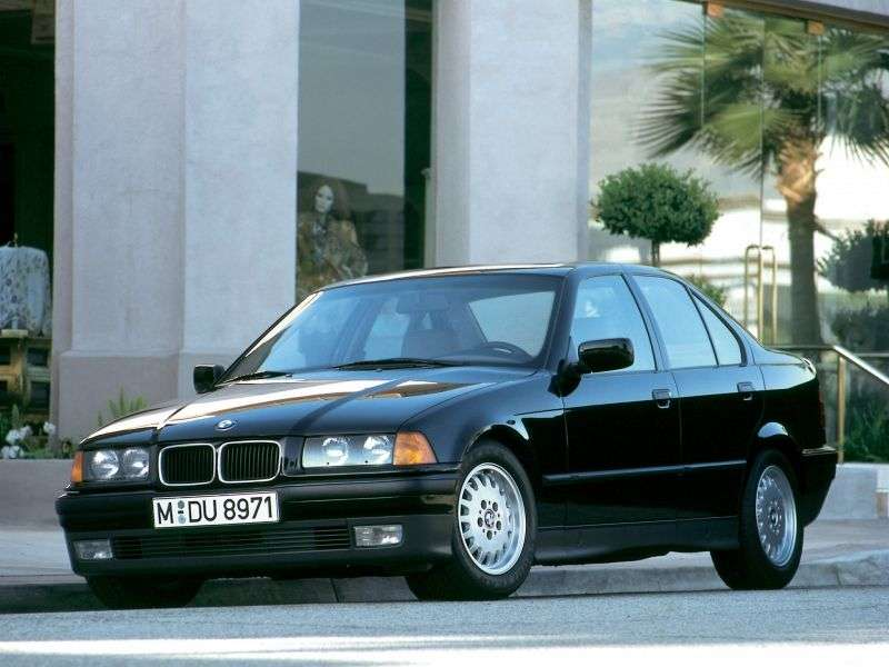 BMW 3 Series E36sedan 316i AT (1993–1998)