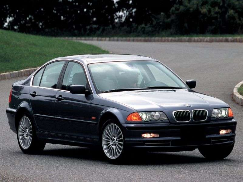 BMW 3 Series E46sedan 4 bit 330i MT (2000–2001)