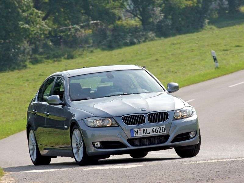 BMW 3 Series E90 / E91 / E92 / E93 [restyling] 320d AT Sedan (2008–2010)