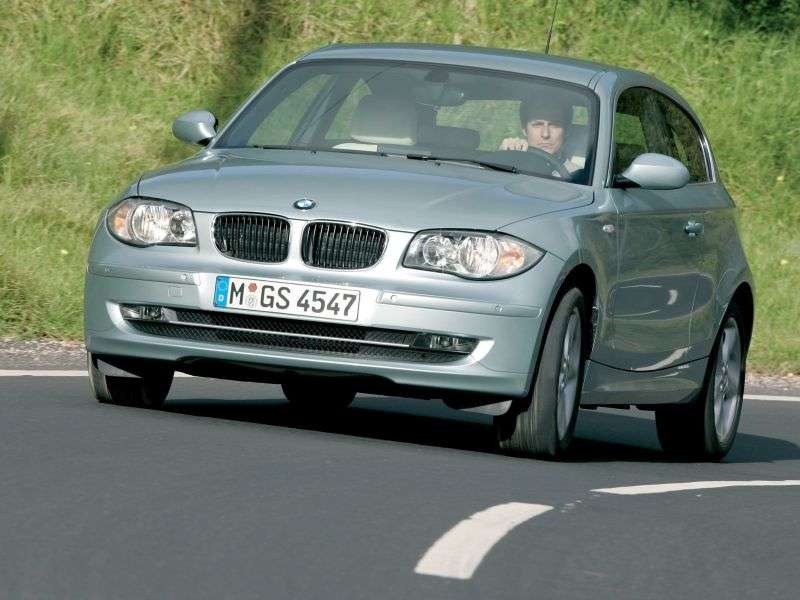 BMW 1 Series E81 / E82 / E87 / E88 [restyling] 3 bit hatchback 120i AT Basic (2007–2012)