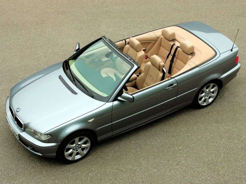 BMW 3 Series E46 [Restyling] 325Ci MT Convertible (2003–2006)