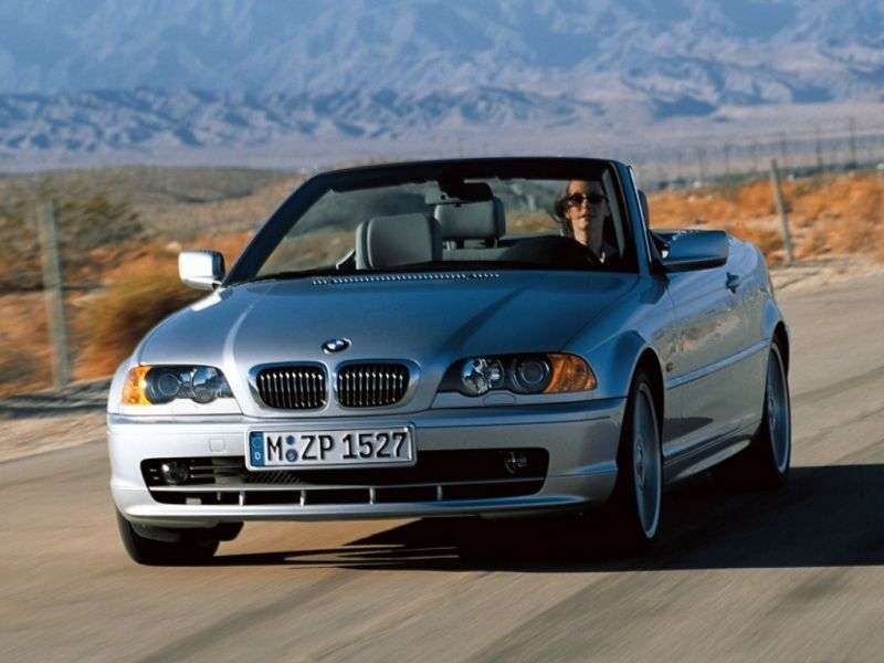 BMW 3 Series E46 Cabrio 330Ci AT (2000–2003)