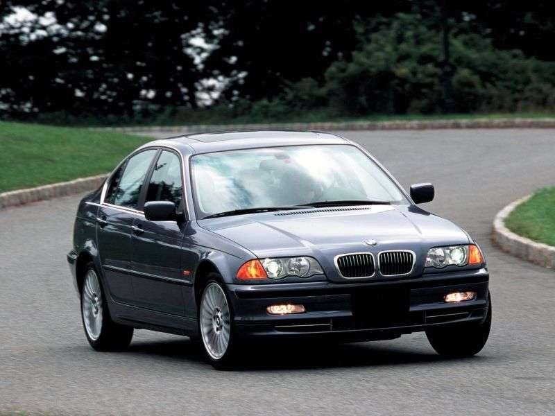 BMW 3 Series E46sedan 4 bit 330xd MT (2000–2001)