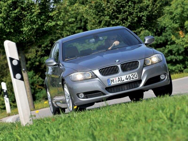 BMW 3 Series E90 / E91 / E92 / E93 [restyling] 335i xDrive MT Sedan (2008–2010)