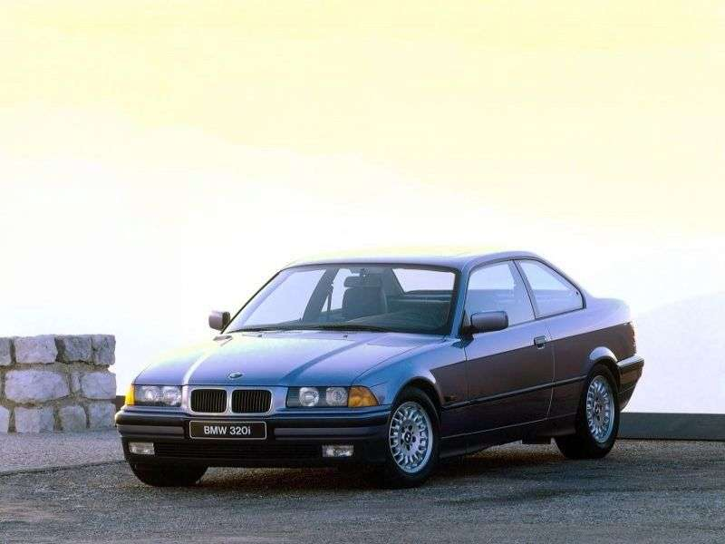 BMW 3 Series E36 Coupe 318is MT (1991–1995)