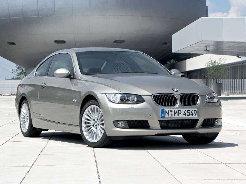 BMW 3 Series E90 / E91 / E92 / E93 Coupe 325d AT (2007–2009)