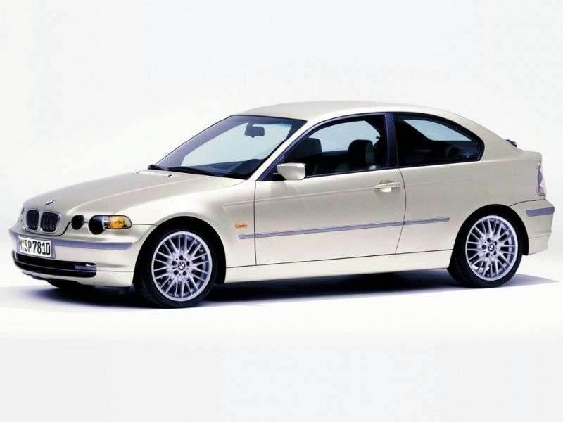 BMW 3 Series E46Compact Hatchback 325ti MT (2001–2003)