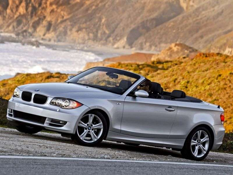 BMW 1 Series E81 / E82 / E87 / E88 [Restyling] 135i MT Convertible (2008–2010)