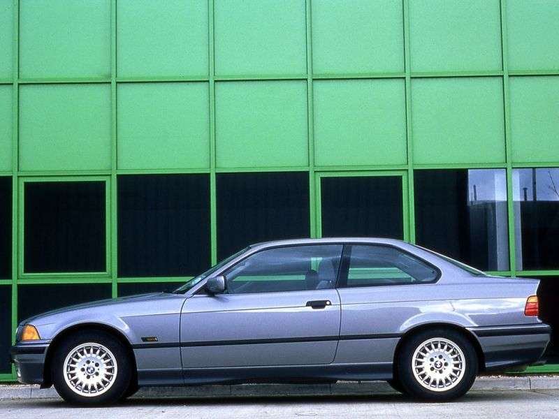 BMW 3 Series E36 Coupe 323i MT (1996–1999)