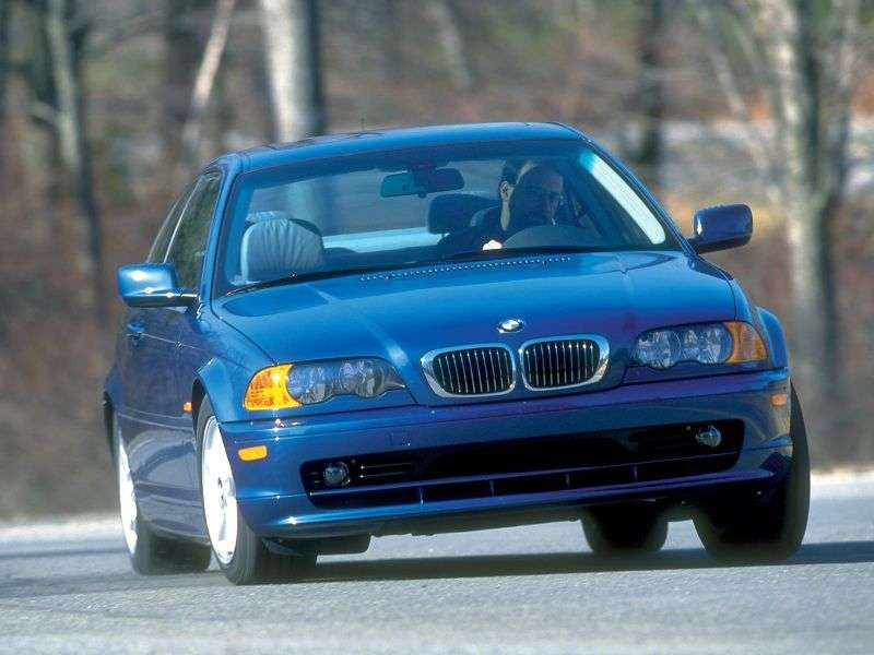 BMW 3 Series E46 Coupe 325Ci AT (2000–2003)