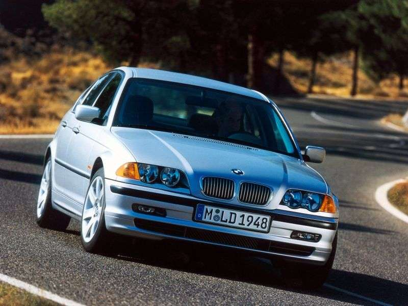 BMW 3 Series E46sedan 4 bit 330d MT (1999–2001)