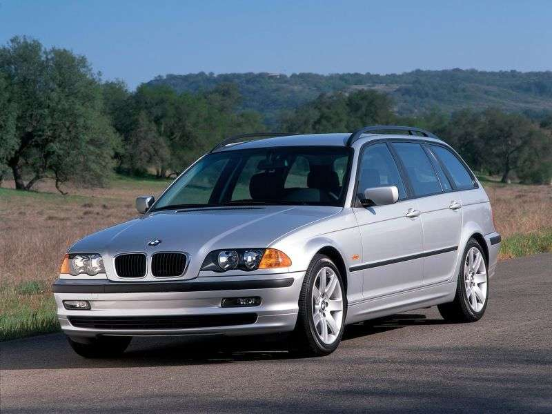 BMW 3 Series E46Touring Wagon 325xi MT (2000–2001)