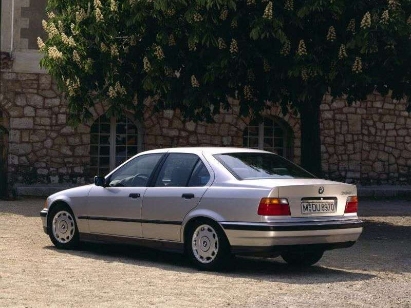 BMW 3 Series E36sedan 318i AT (1993–1998)