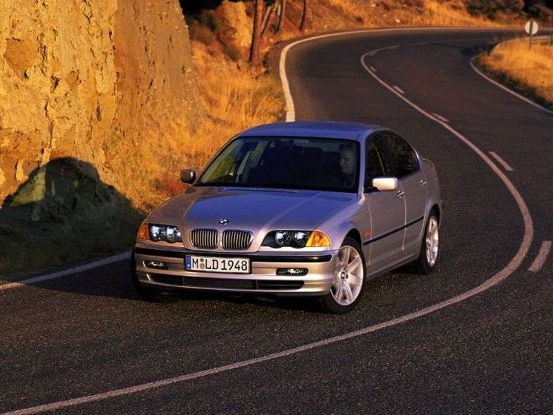 BMW 3 Series E46sedan 4 bit 323i MT (1997–2000)