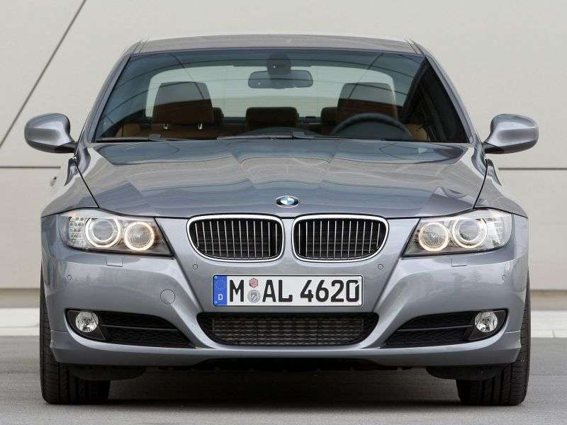 BMW 3 Series E90 / E91 / E92 / E93 [restyling] 325d AT Sedan (2008–2010)