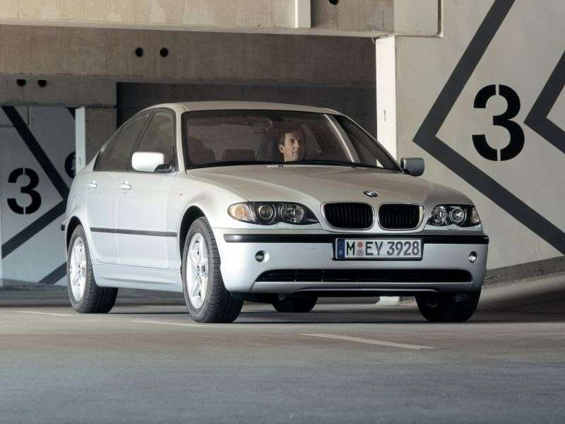 BMW 3 Series E46 [restyling] 320d 5MT Sedan (2001–2003)