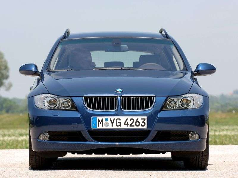 BMW 3 Series E90 / E91 / E92 / E93 Touring 320d AT Touring (2007–2008)