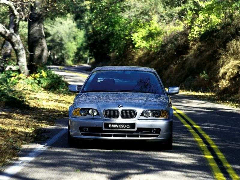 BMW 3 Series E46 Coupe 330Ci AT (2000–2003)
