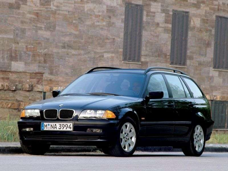 BMW 3 Series E46Touring Wagon 330xi MT (2000–2001)