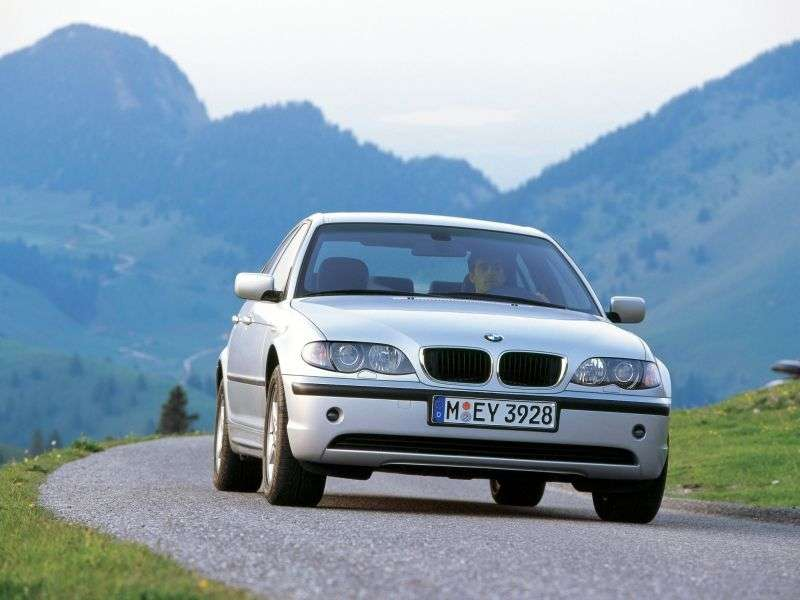 BMW 3 Series E46 [restyling] 330i AT Sedan (2002–2005)