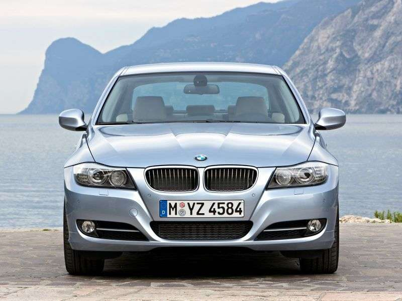 BMW 3 Series E90 / E91 / E92 / E93 [restyling] Sedan 318d AT (2008–2010)