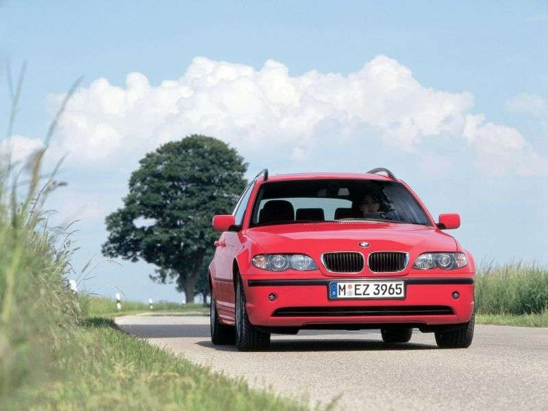 BMW 3 Series E46 [Restyled] Touring Wagon 320i MT (2001–2005)