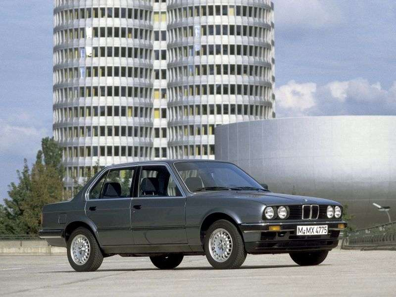BMW 3 Series E30sedan 4 bit 318i 4AT (1985–1985)