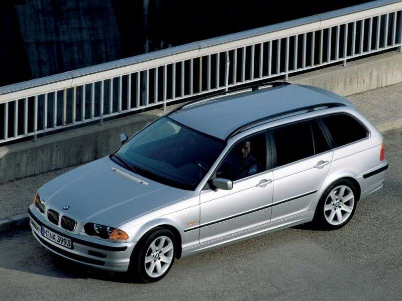 BMW 3 Series E46Touring Wagon 328i AT (1999–2000)