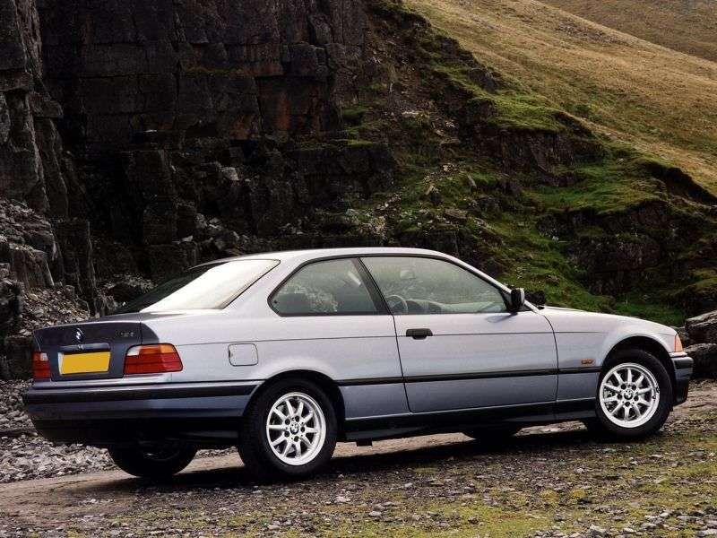 BMW 3 Series E36 Coupe 320i AT (1991–1992)
