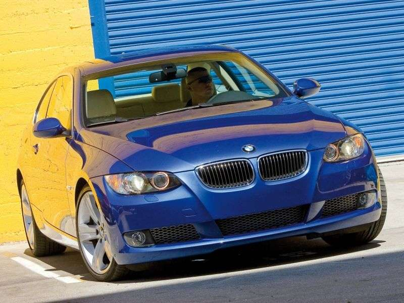 BMW 3 Series E90 / E91 / E92 / E93 Coupe 335d AT (2006–2007)