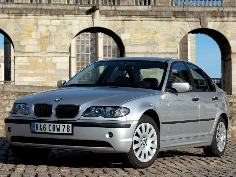 BMW 3 Series E46 [Restyling] 330xi 6MT Sedan (2003–2005)