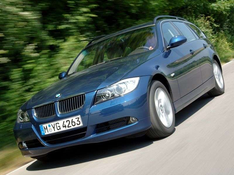BMW 3 Series E90 / E91 / E92 / E93 Touring Wagon 335xi MT (2007–2008)