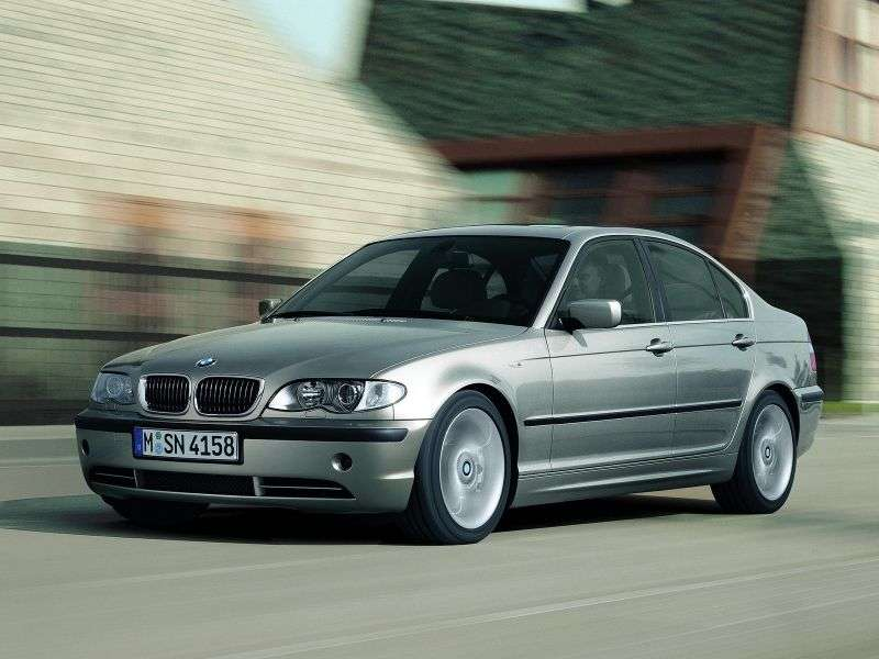 BMW 3 Series E46 [restyling] 320i AT Sedan (2001–2005)