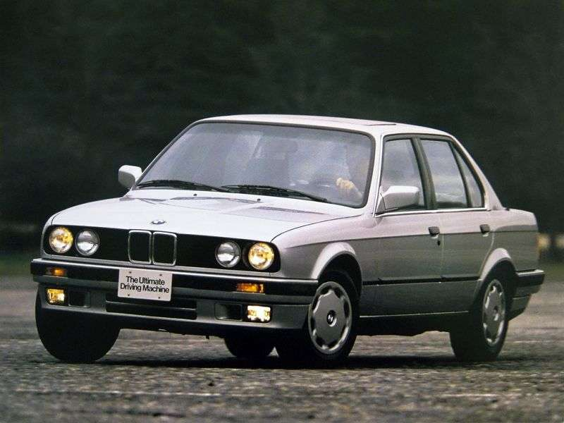 BMW 3 Series E30 [restyling] 4 door sedan. 316i MT (1988–1991)