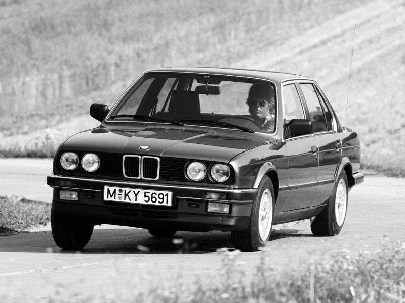 BMW 3 Series E30sedan 4 bit 320i MT (1985 1987)
