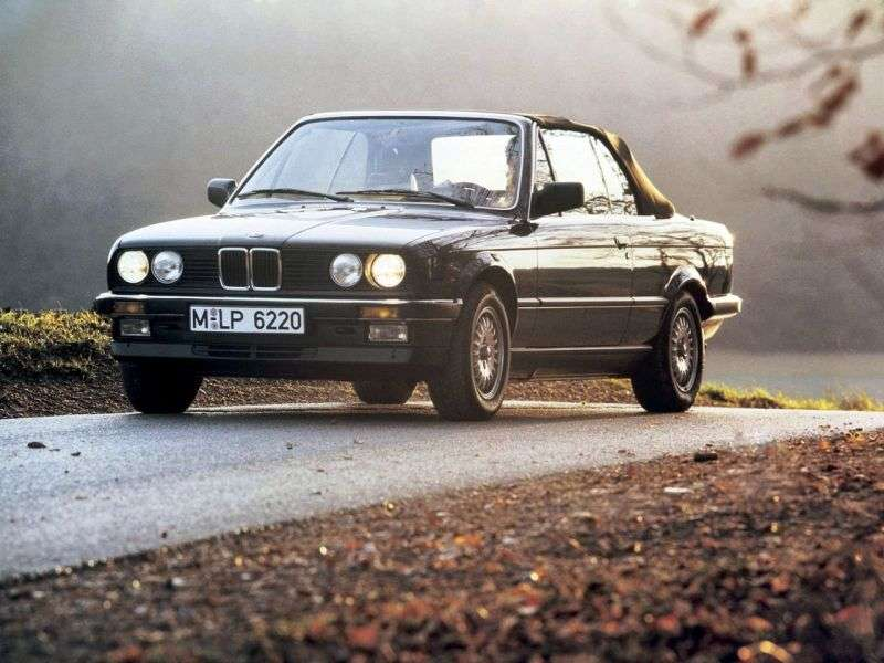 BMW 3 Series E30 Cabrio 320i AT (1986–1990)