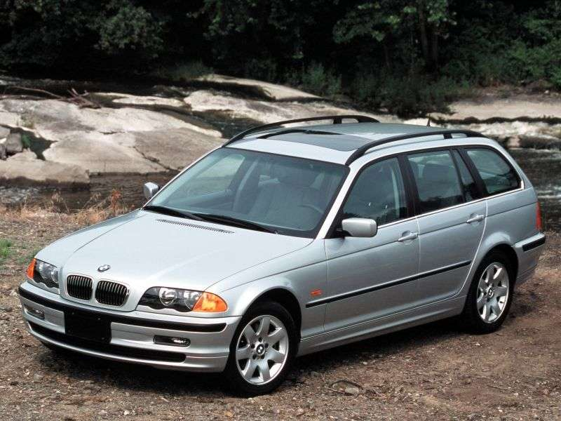 BMW 3 Series E46Touring Wagon 323i MT (2000–2000)