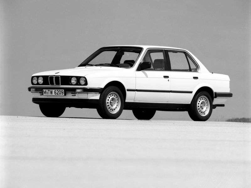 BMW 3 Series E30sedan 4 bit 318i 3AT (1982 1984)