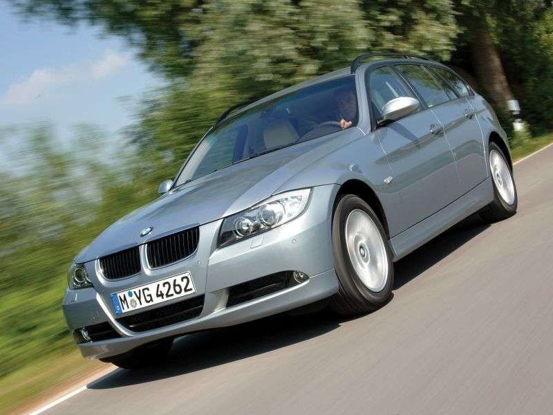 BMW 3 Series E90 / E91 / E92 / E93 Touring 325d AT Touring (2007–2008)
