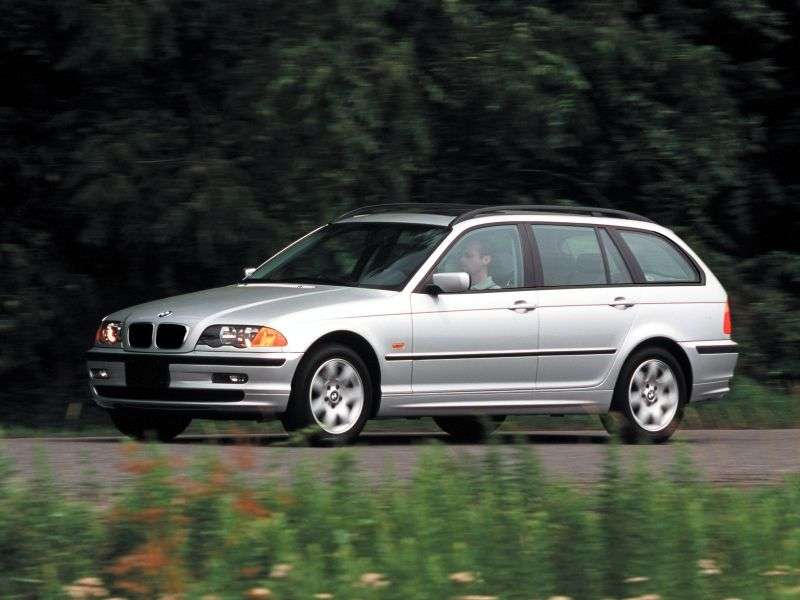 BMW 3 Series E46Touring Wagon 330xi AT (2000–2001)