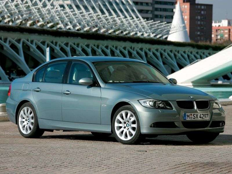 BMW 3 Series E90 / E91 / E92 / E93 sedan 330xd AT (2005–2007)