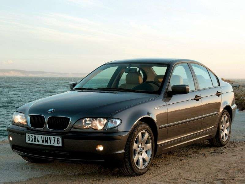 BMW 3 Series E46 [restyling] 325xi AT Sedan (2002–2005)