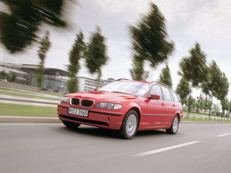 BMW 3 Series E46 [Restyled] Touring 318i MT Touring (2001–2005)
