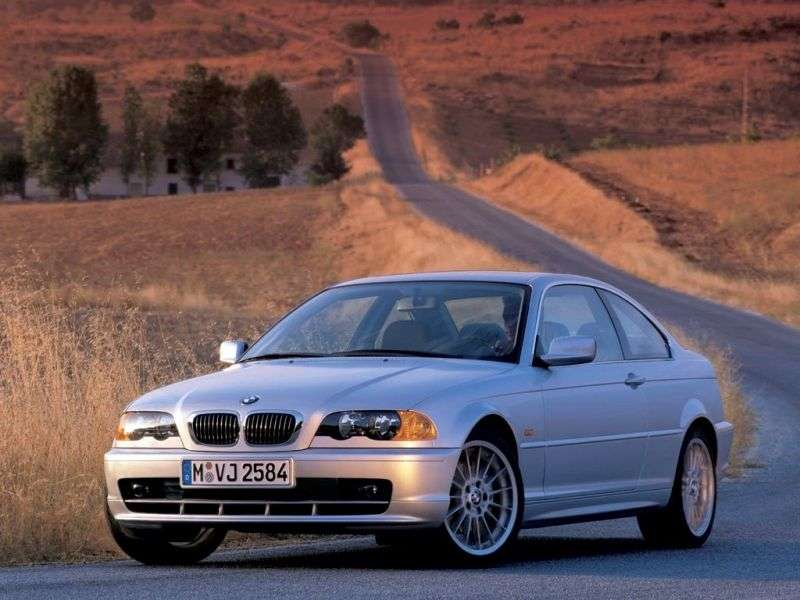 BMW 3 Series E46 Coupe 330Ci AT (2001–2003)