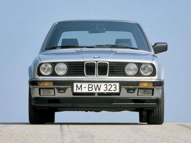 BMW 3 Series E30sedan 2 bit 320i 4AT (1983–1985)