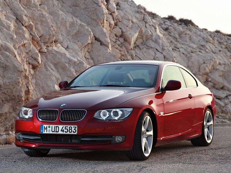 BMW 3 Series E90 / E91 / E92 / E93 [Restyling] Coupe 325i MT Basic (2010 – AD)