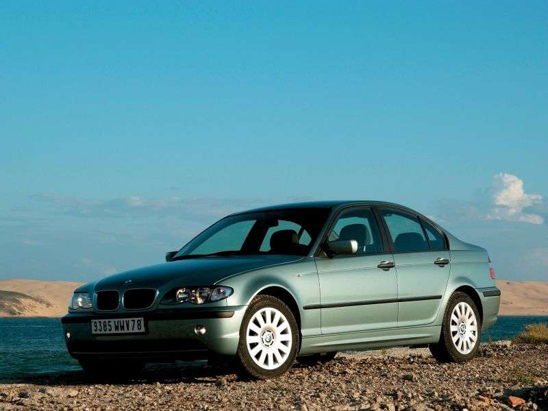 BMW 3 Series E46 [Restyling] MT 325i Sedan (2002–2005)