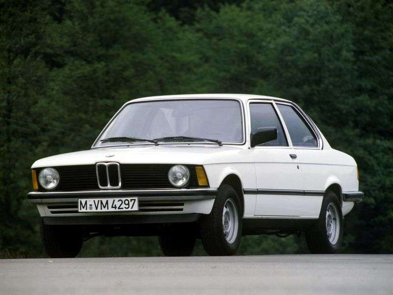 BMW 3 Series E21sedan 316 5MT (1980–1983)