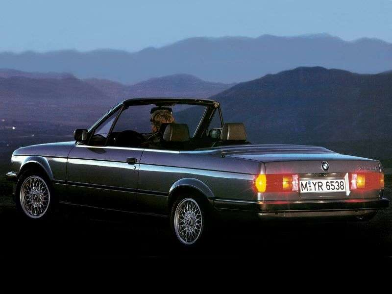 BMW 3 Series E30 Cabrio 325i MT (1985–1990)