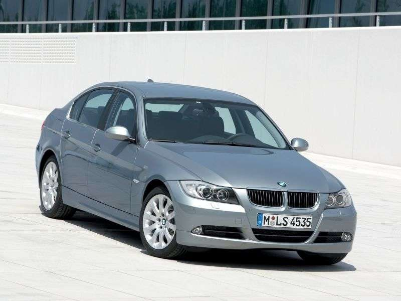 BMW 3 Series E90 / E91 / E92 / E93sedan 330xi AT (2007–2008)